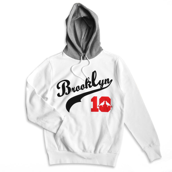 Brooklyn 10 Hoodies (White)