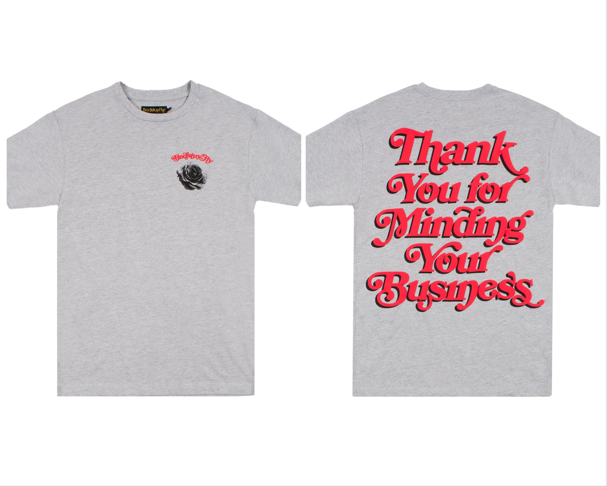Mind Your Business (Gray/Red)
