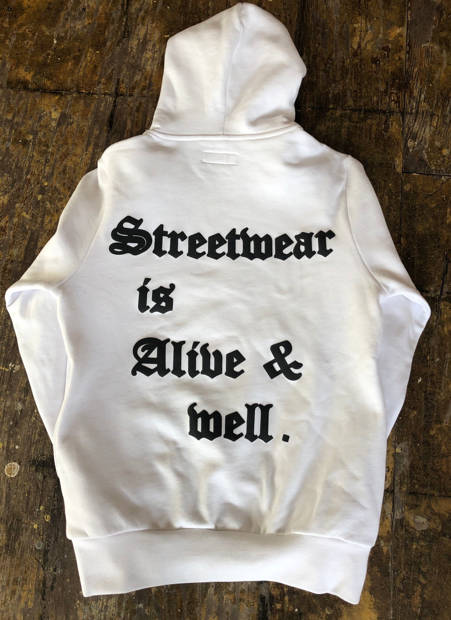 Alive & Well Hoodie (White)