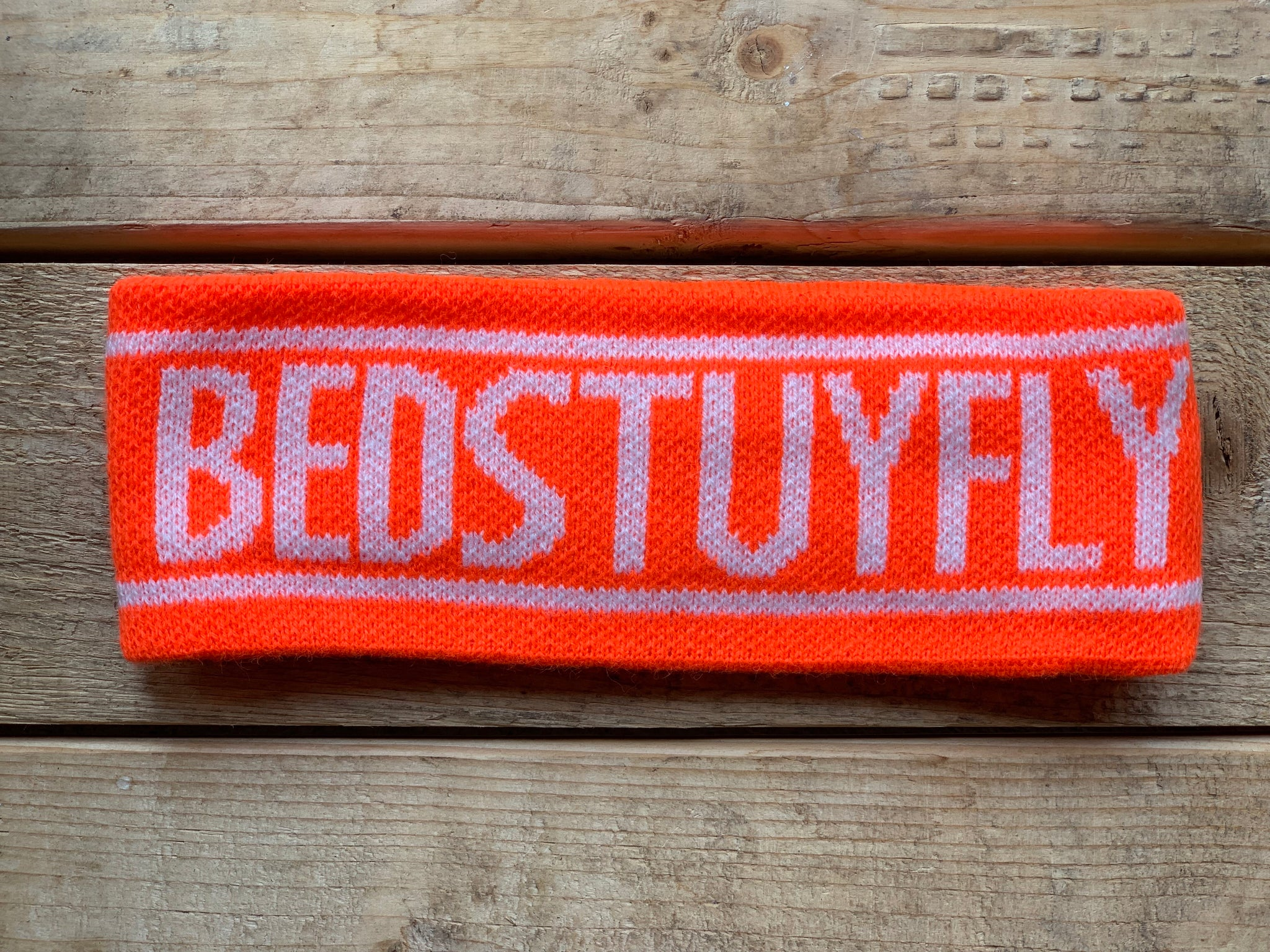 Bedstuyfly Headband (Orange)