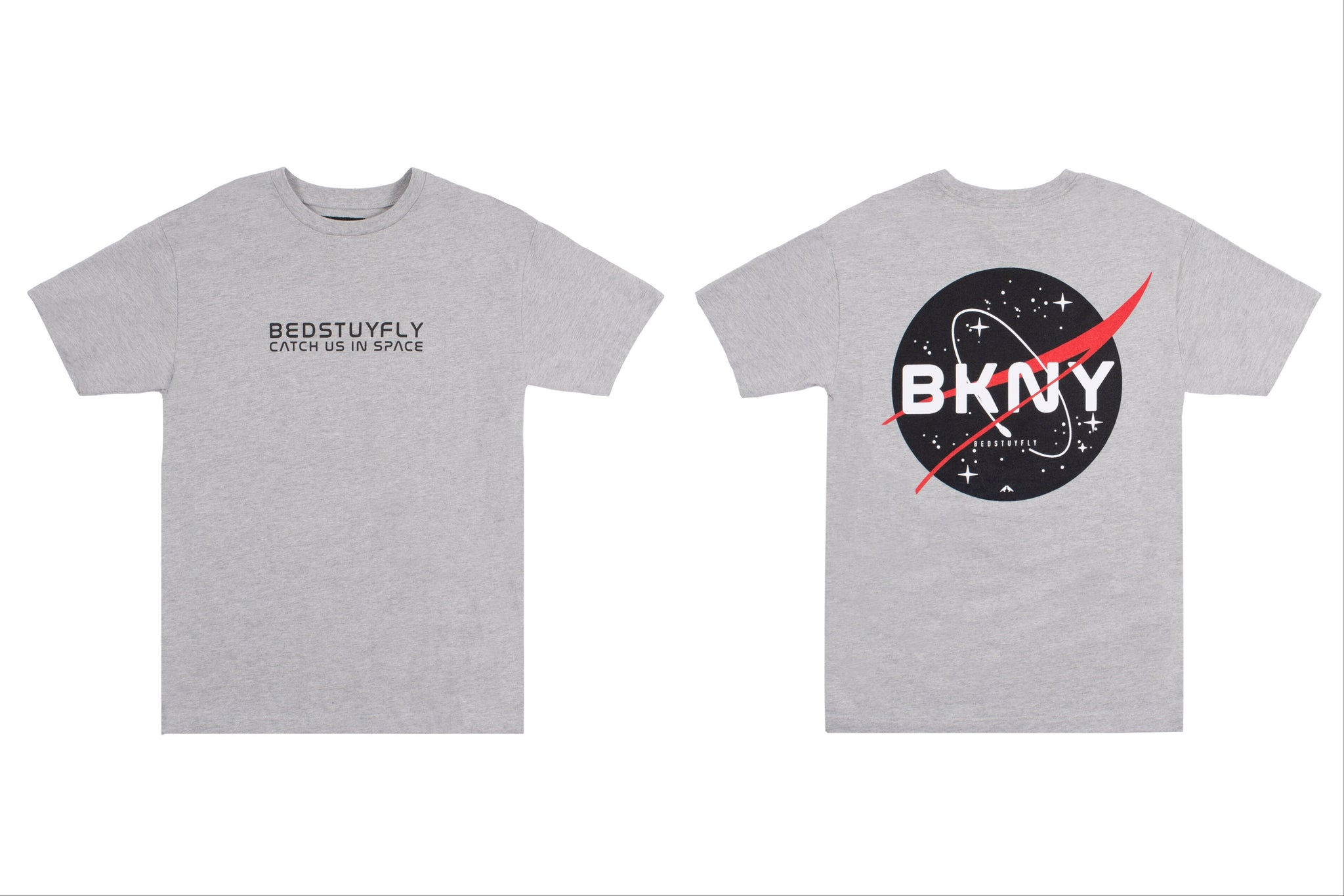 Brooklyn Space Project T-Shirt (Gry/Red)