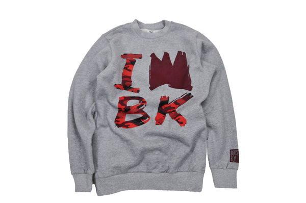 King of BK Sweatshirt (Gry)