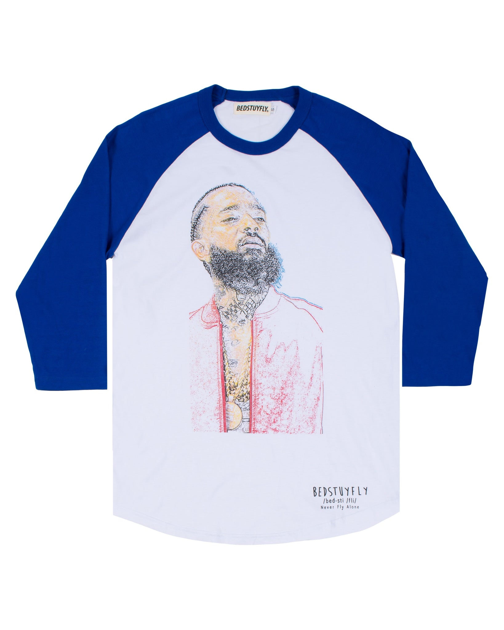 Ermias Baseball T-Shirt (Royal Blue)