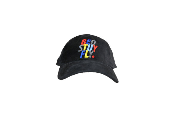 Colors Corduroy Cap  (Blk)