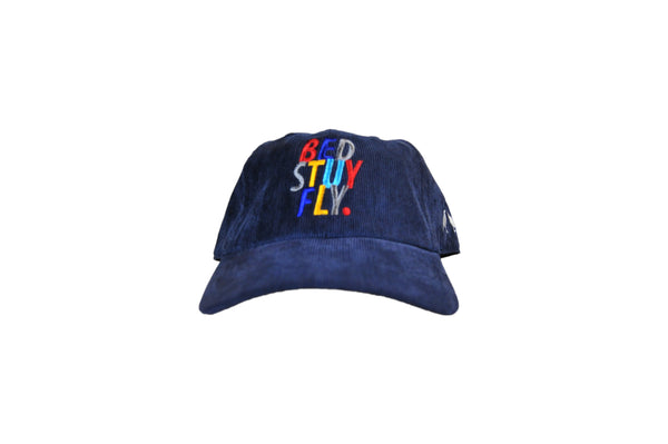 Colors Corduroy Cap  (Navy)