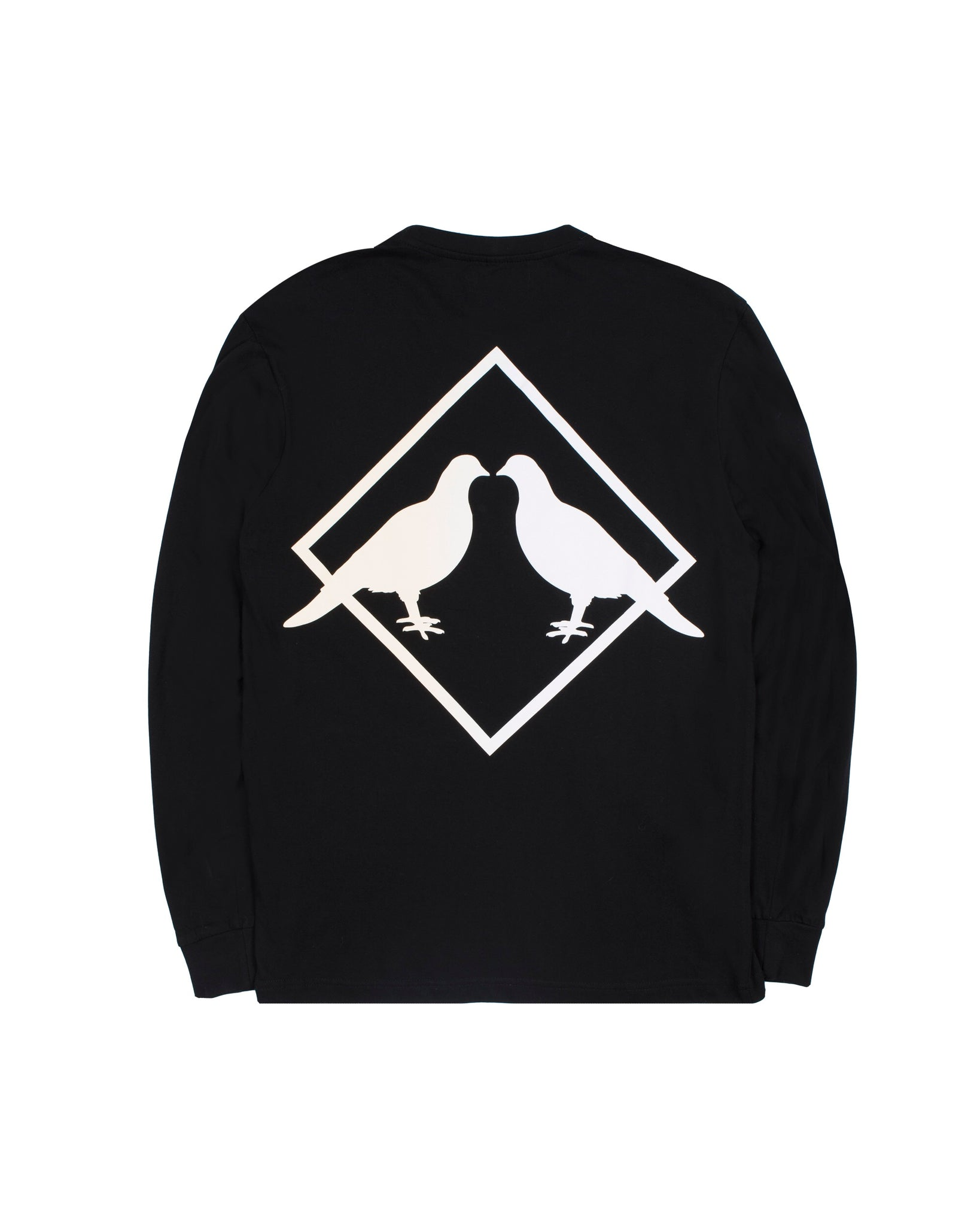 Marble Long Sleeve (Blk/Crm)