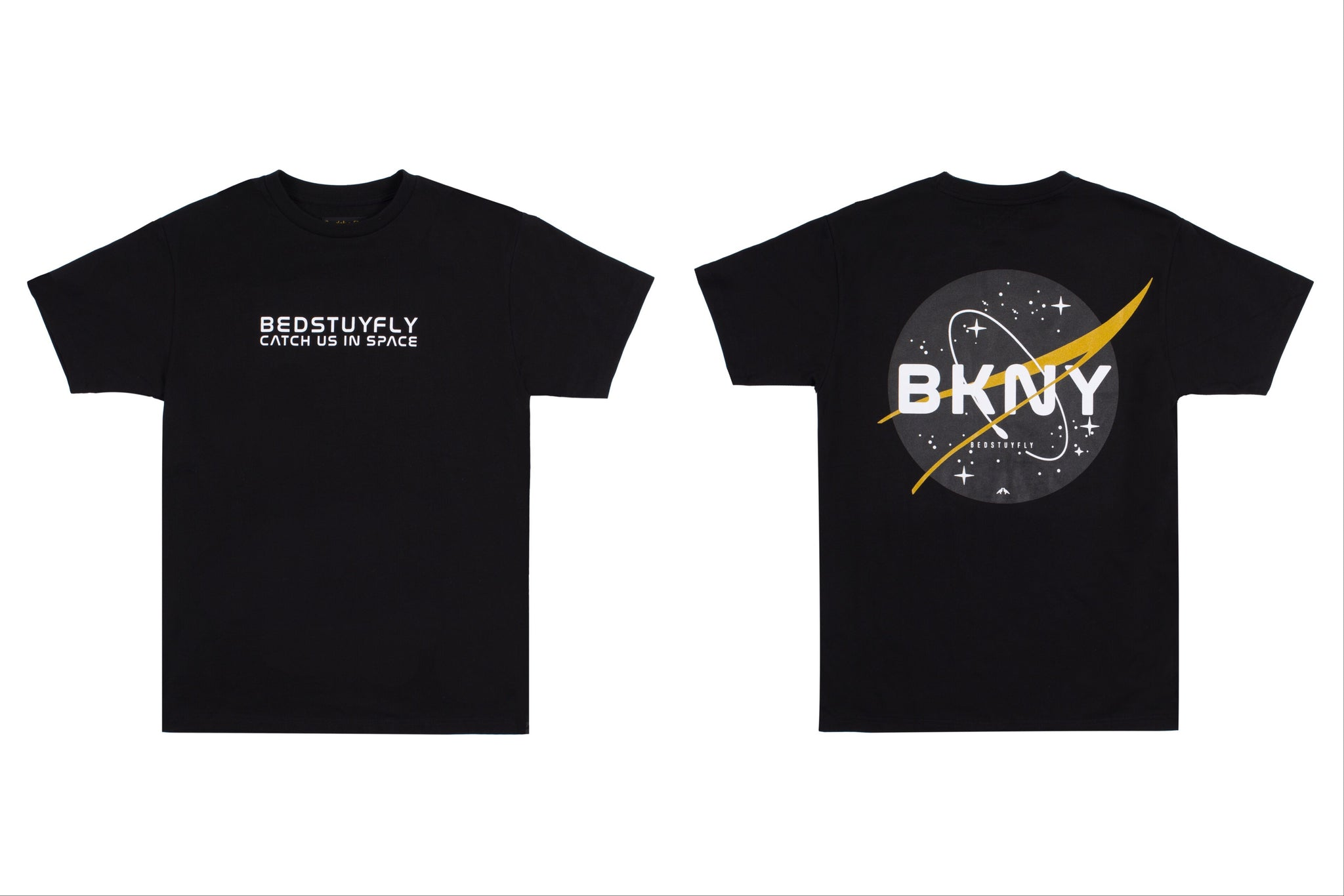 Brooklyn Space Project T-Shirt (Blk/Gold)