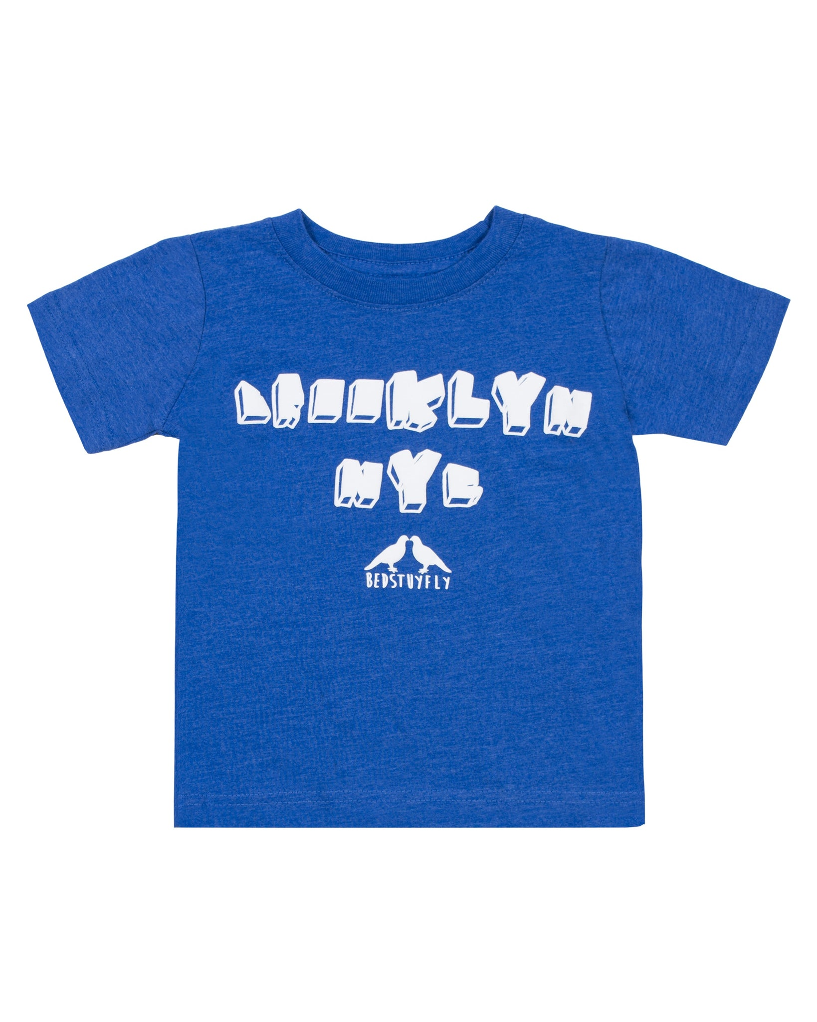 Brooklyn NY Kids T-Shirt (Blu)