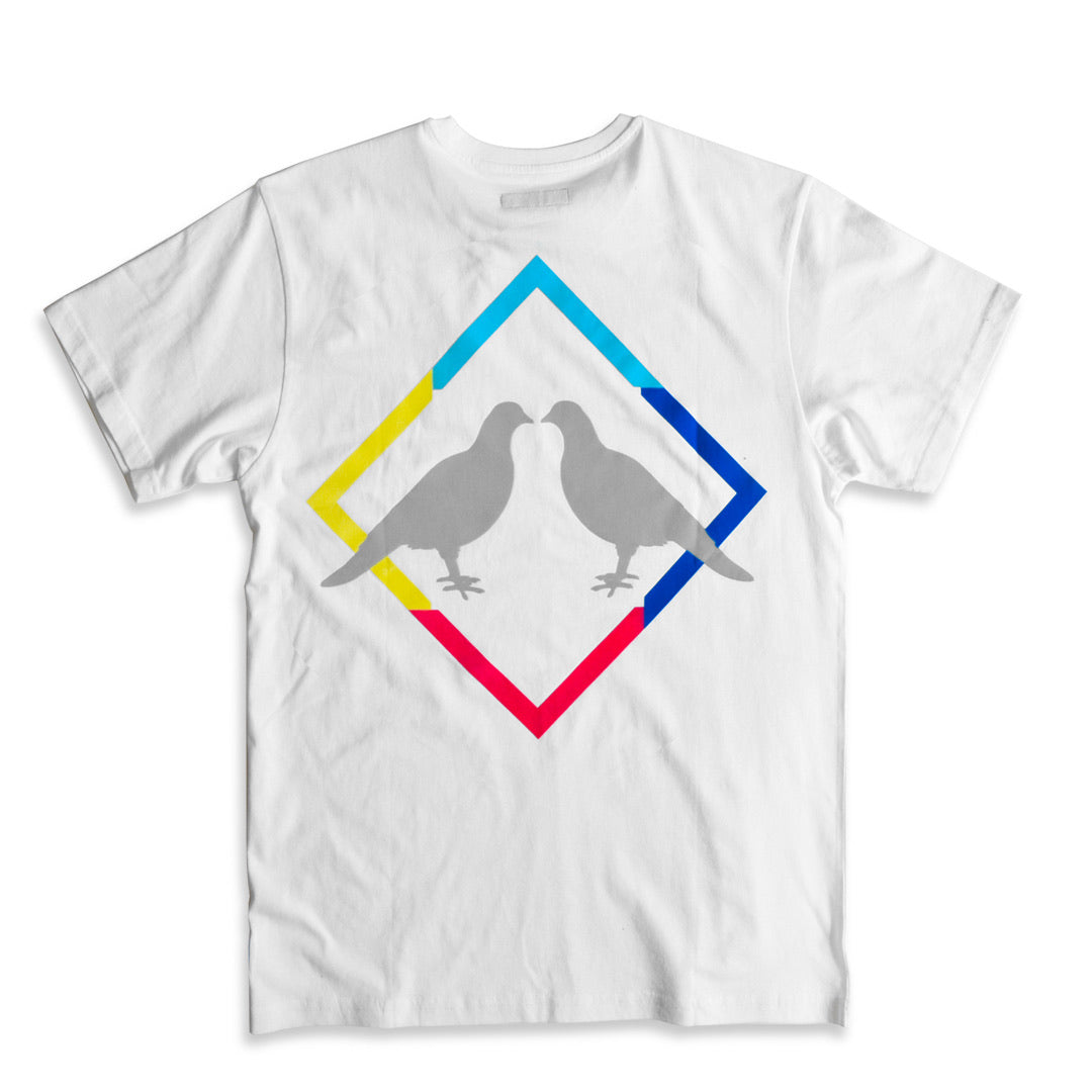 2.0 T-Shirt (White/Multi)