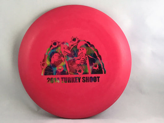 WCDG 2014 Turkey Shoot, Innova DX Roc_ Red with Rainbow Foil Stamp_175g