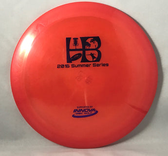 WCDG 2016 HB Summer Series Stamp, Innova Luster Champion Thunderbird_Rust Red with Purple Foil Stamp_175g