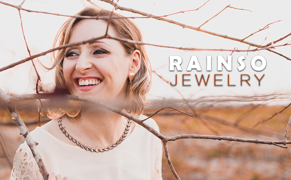 Rainso magnetic necklace for women