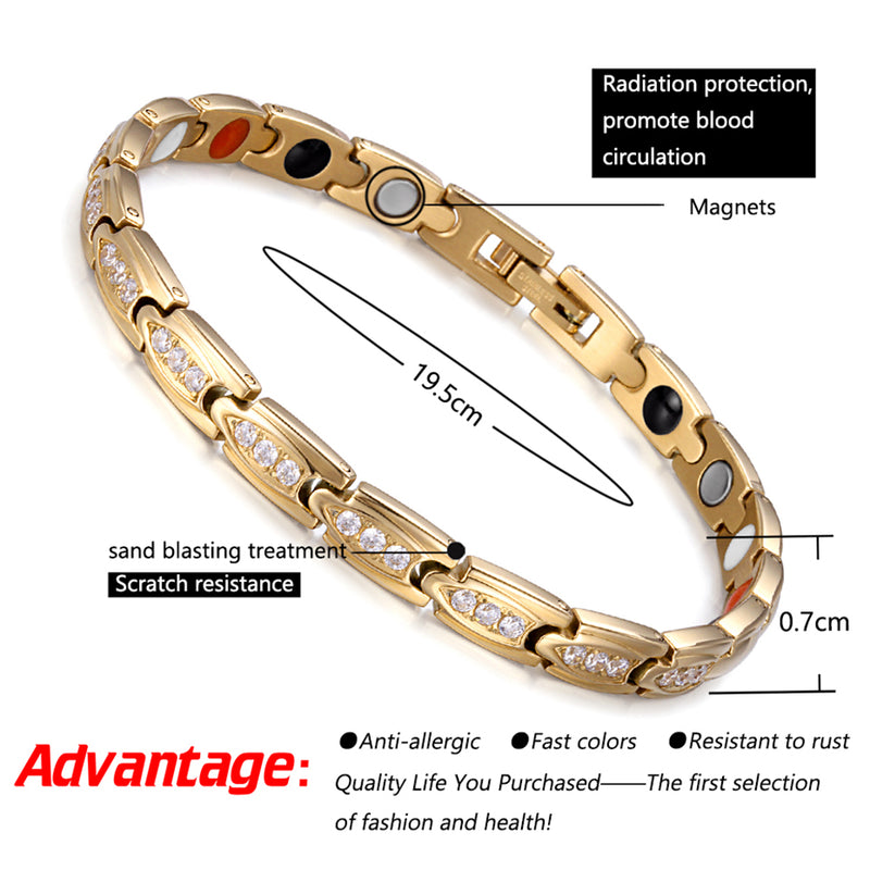 Stainless Steel Magnetic Bracelet| Bracelet For Arthritis | Rainso Magnetic Bracelet