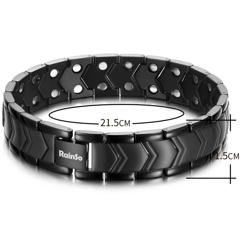 Powerful Mens Magnetic Therapy Bracelets Arthritis