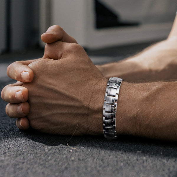 Rainso Men Powerful Magnetic Therapy Bracelet For Health