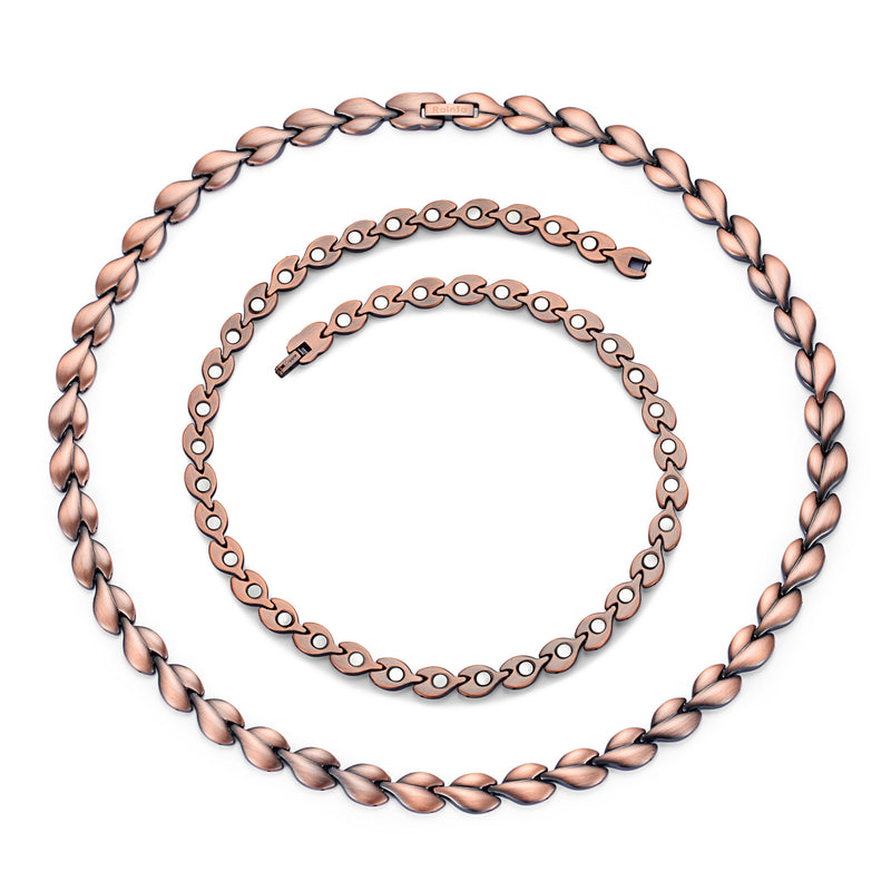 Powerful Copper Magnetic Therapy Necklace for Shoulder Neck Back Arthritis Pain