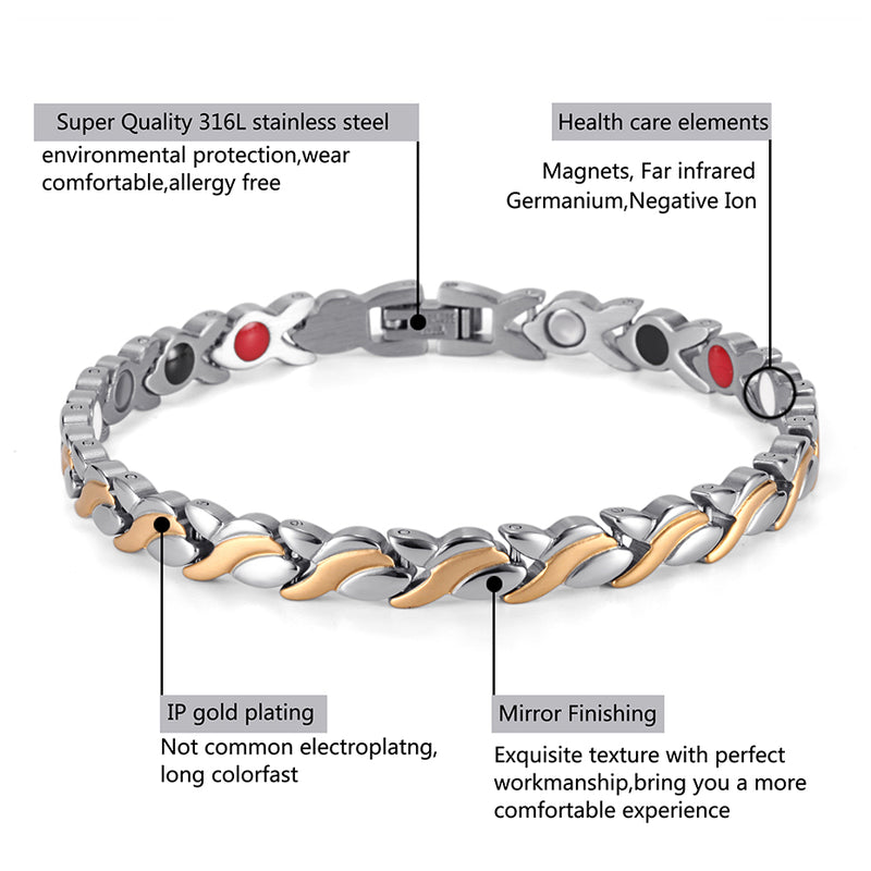 High Gauss Magnetic Bracelet