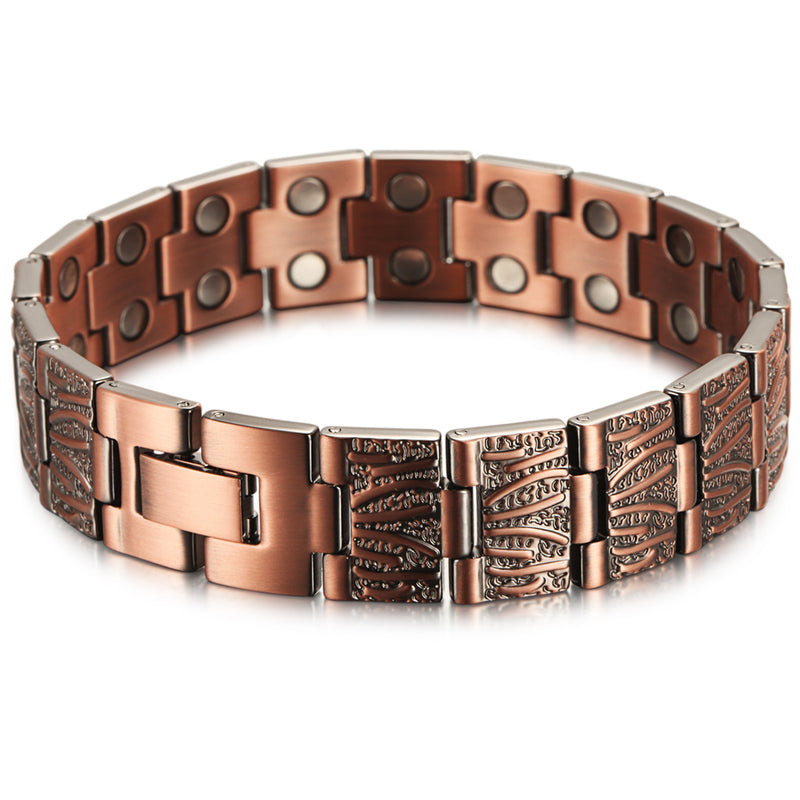 Copper Bracelet with Magnet