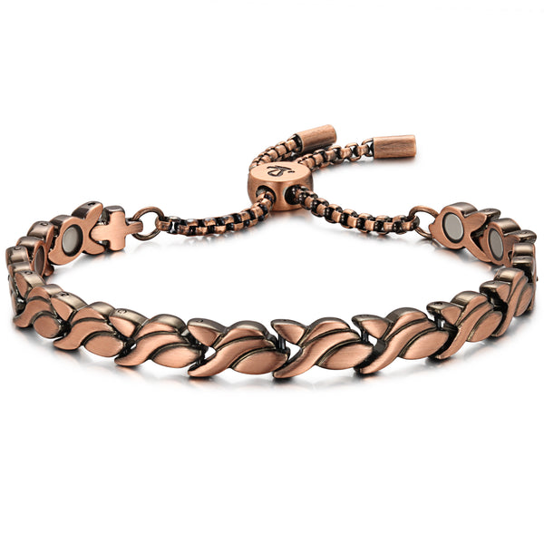 Womens Effective Copper Magnetic Bracelets For Pain