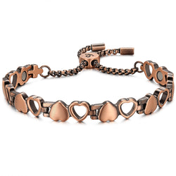 Womens Powerful Copper Magnetic Bracelets For Benefits