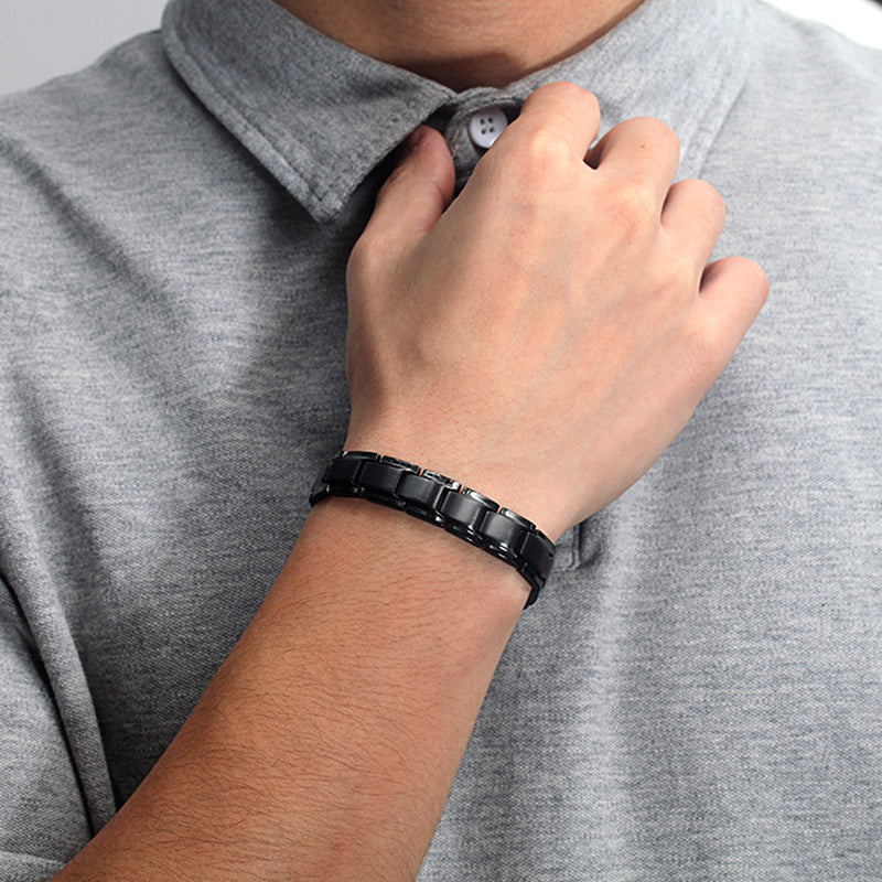 Mens Most Effective Powerful Magnetic Therapy Bracelet
