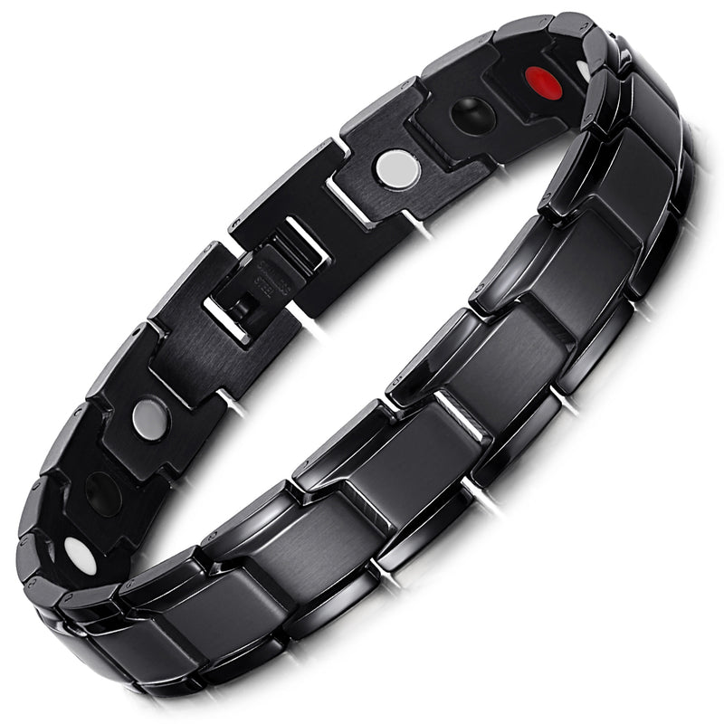Mens Most Effective Powerful Magnetic Therapy Bracelet Benefits