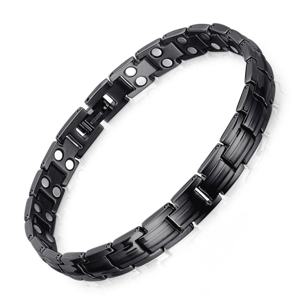 High Gauss Most Effective Powerful Women Titanium Magnetic Bracelet Benefits