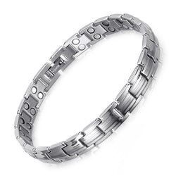 High Gauss Most Effective Powerful Women Titanium Magnetic Therapy Bracelets