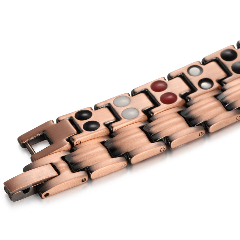 High Gauss Most Effective Powerful Women Magnetic Copper Bracelet