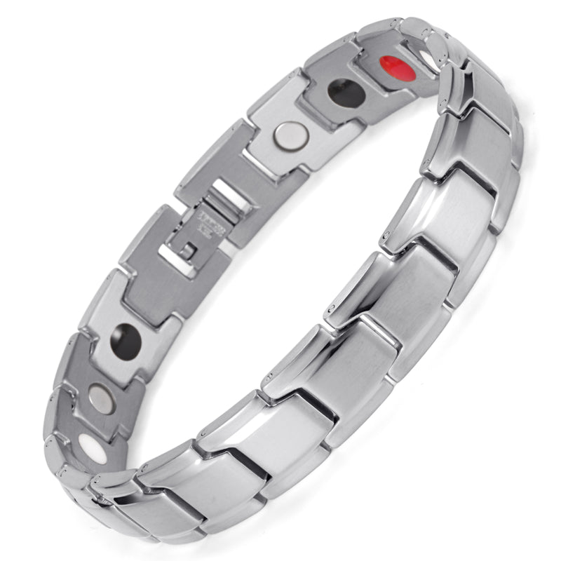 Strengthen Stainless Steel Magnetic Therapy Bracelet for Arthritis