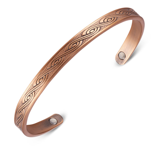 Powerful Pure Copper Magnetic Therapy Bracelet for Pain