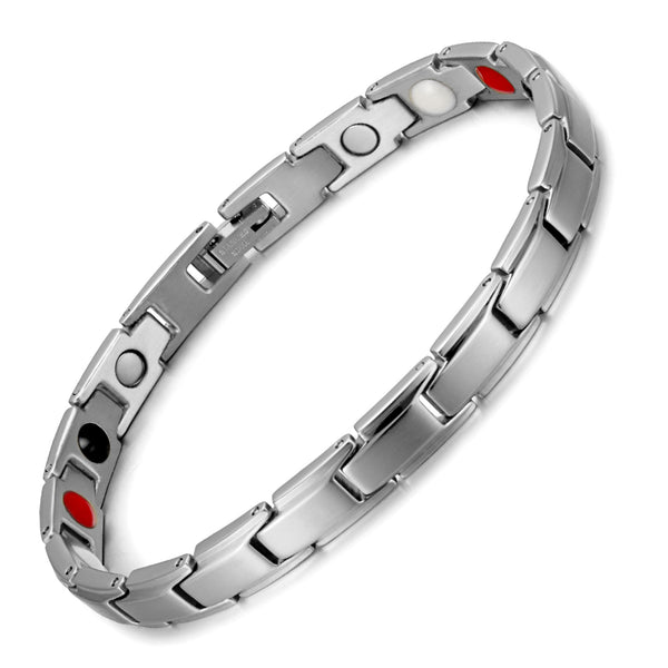 High Guass Stainless Steel Magnetic Therapy Bracelet for Arthritis