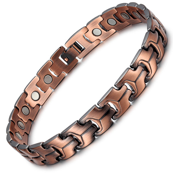 Rainso Powerful Pure Copper Magnetic Bracelets for Arthritis