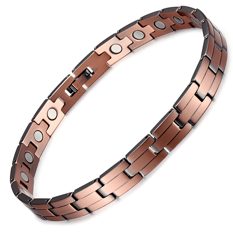 Rainso Powerful Pure Copper Magnetic Bracelet for Arthritis
