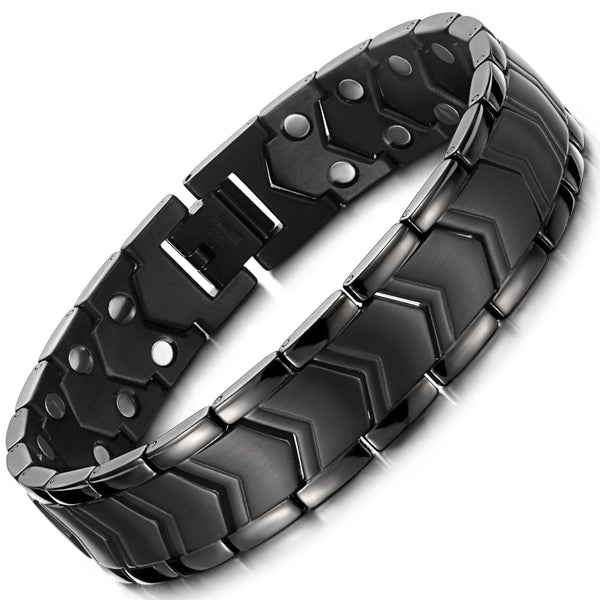 High Gauss Powerful Mens Magnetic Therapy Bracelets Arthritis