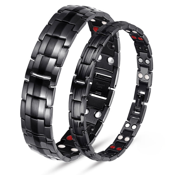 Most Effective Titanium Couple Magnetic Therapy Bracelets Benefit