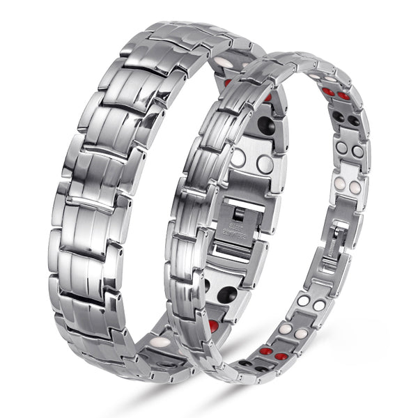 Powerful Most Effective Titanium Magnetic Therapy Bracelet Benefit