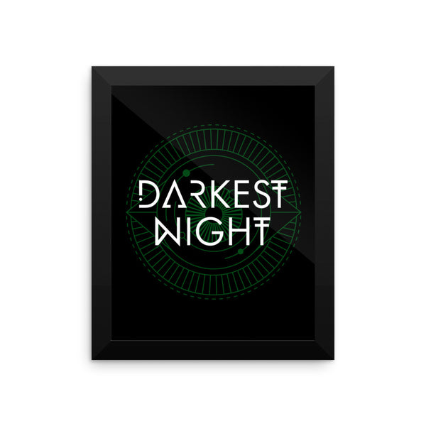 Darkest Night Framed Photo Paper  Poster