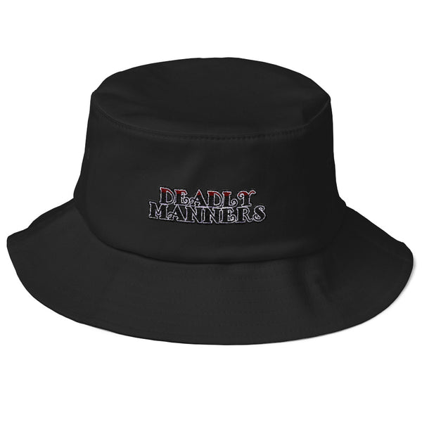 Deadly Manners Old School Bucket Hat