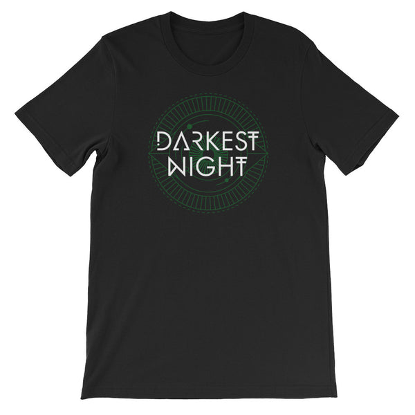 Darkest Night Unisex short sleeve t-shirt