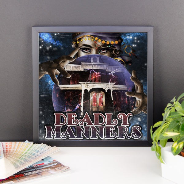 Deadly Manners Framed photo paper poster
