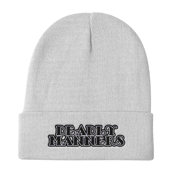 Deadly Manners Knit Beanie