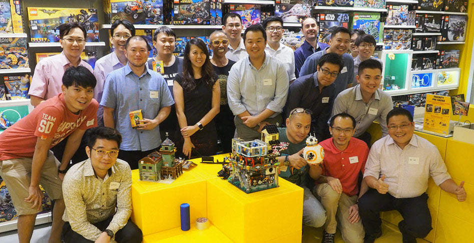 What's on: LEGO Certified Stores (Bricks World) First Adult Fan of LEGO (AFOL) Night