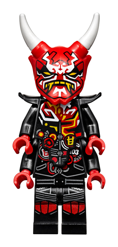 LEGO Certified Stores (Bricks World)  MINIFIGURE OF THE MONTH - The Mask of Vengence + Demon Torso