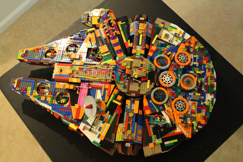 Building Tips: Fun Reads: How you can DIY Your own version of LEGO Star Wars Millennium Falcon!