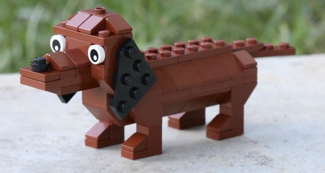Building Tips: Since 2018 is the Year of the Dog, why not learn how to Build a LEGO® Dog!