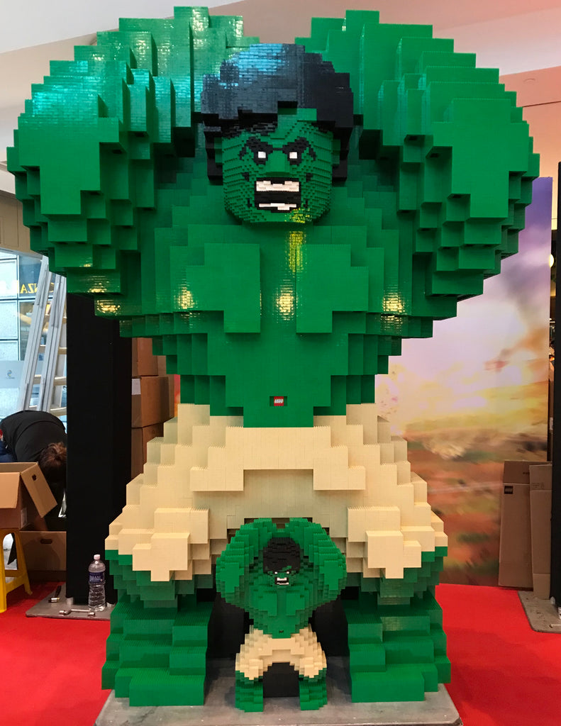 First in ASIA: Witness the 2.4m Tall LEGO HULK built with more than 200,000 LEGO Bricks!