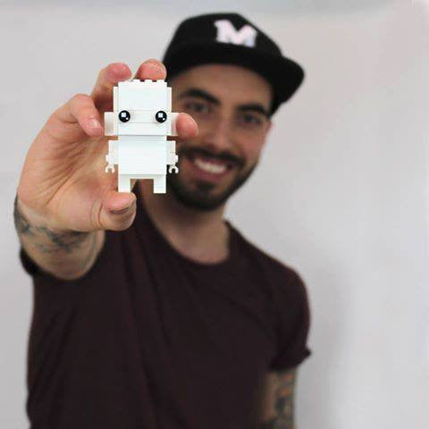 LEGO BrickHeadz Lead Designer Marcos Bessa talks to LEGO Certified Store (Bricks World)