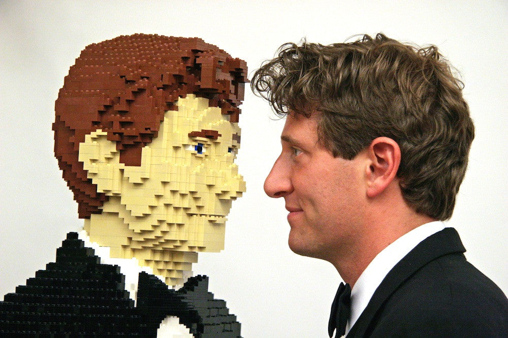 Interview: LEGO Certified Stores (Bricks World) Storemaster interviews Nathan Sawaya, the artist creating with LEGO bricks