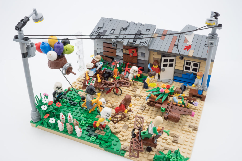 Interview: LEGO Certified Stores (Bricks World) Adult Fan of LEGO (AFOL) MOC Competition Winner - Tan Kok Mun